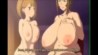 Madre e hija tomando lechita caliente- anime hentai.