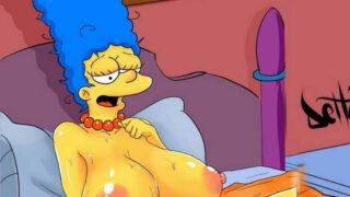 Los Simpson Teniendo Sexo todos contra todos.